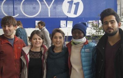 Les étudiants de Polytech Savoie et Nabilah de l'Université de Lomé à la COY 11 - Équipe EAD d'ISF