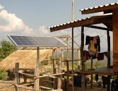 Panneaux solaires en Thaïlande