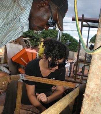Appui d'ISF Nancy aux fabricants de farine Misola au Mali