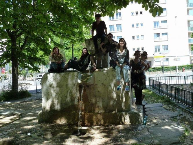 Participants école d'été.