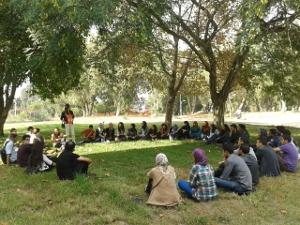 Echange avec les élèves-ingénieurs à l'IAV Hassan II