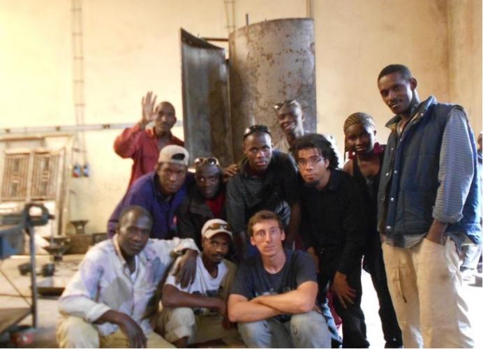 Projet d'électrification d'une maison des jeunes en Guinée