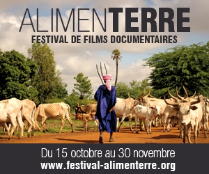 Affiche du Festival ALIMENTERRE 2015