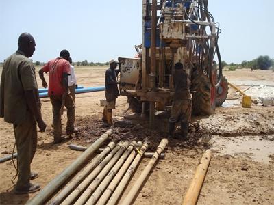 Forage à Bakel, Sénégal