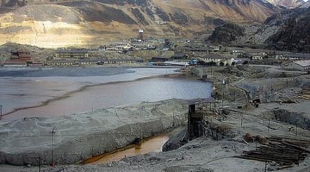 Résidus de la mine de cuivre, plomb, zinc et métaux précieux de La Oroya (Pérou)