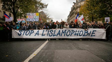 Manifestation du 10 Novembre 2019 contre l'islamophobie à Paris