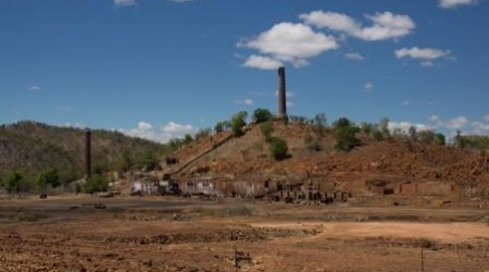 Ancienne fonderie de plomb et de cuivre de Chillagoe, Queensland, Australie