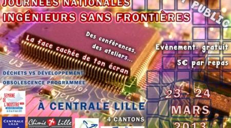 Affiche des 27ème Journées Nationales ISF Nord